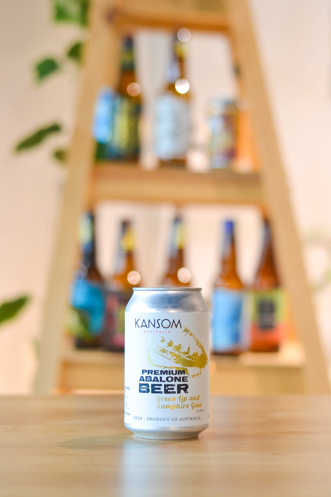 Kansom Green Lip and Samphire Gose (CAN) (330ml)