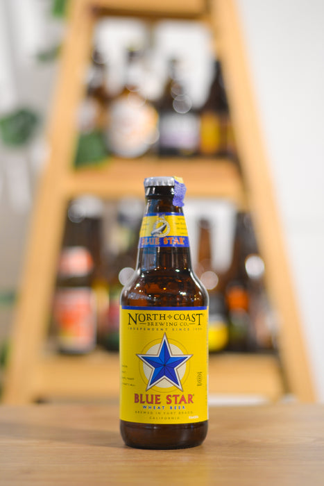 North Coast Blue Star Wheat Beer (355ml)