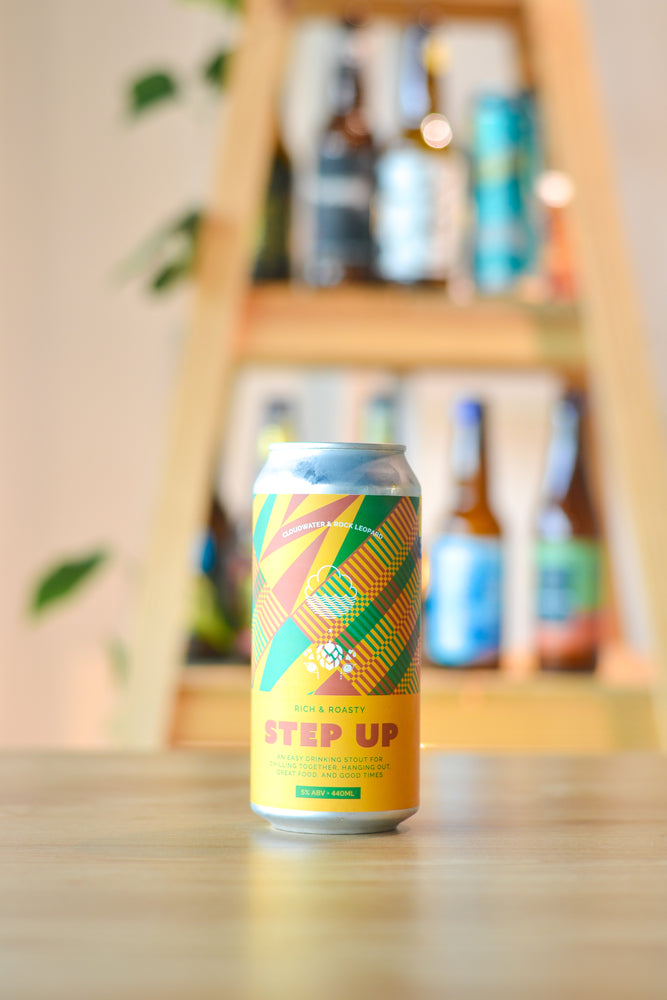 Cloudwater x Rock Leopard Rich & Roasty Step Up (440ml)