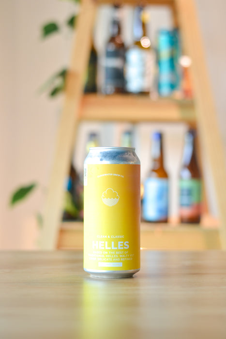 Cloudwater Clean & Classic Helles (440ml)