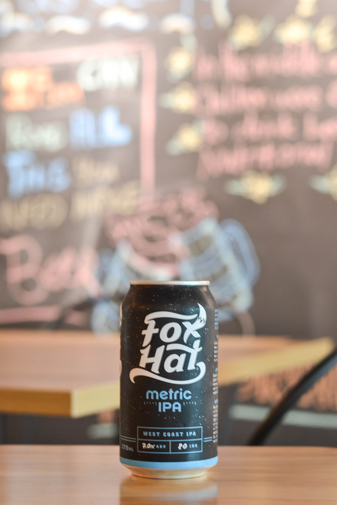 Fox Hat Metric IPA (330ml)