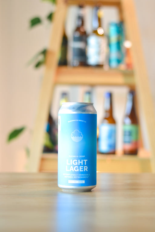 Cloudwater Clean & Crisp Light Lager (440ml)