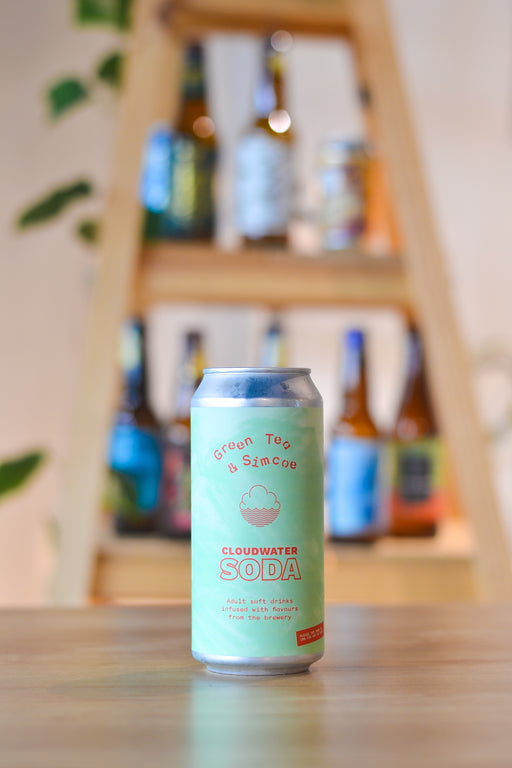 Cloudwater Green Tea & Simcoe Soda (440ml)