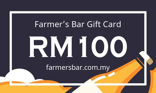 Farmer's Bar RM100 Gift Card