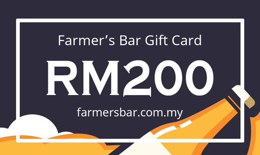 Farmer's Bar RM200 Gift Card
