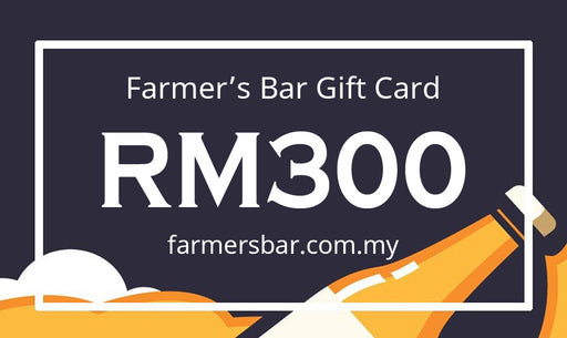 Farmer's Bar RM300 Gift Card