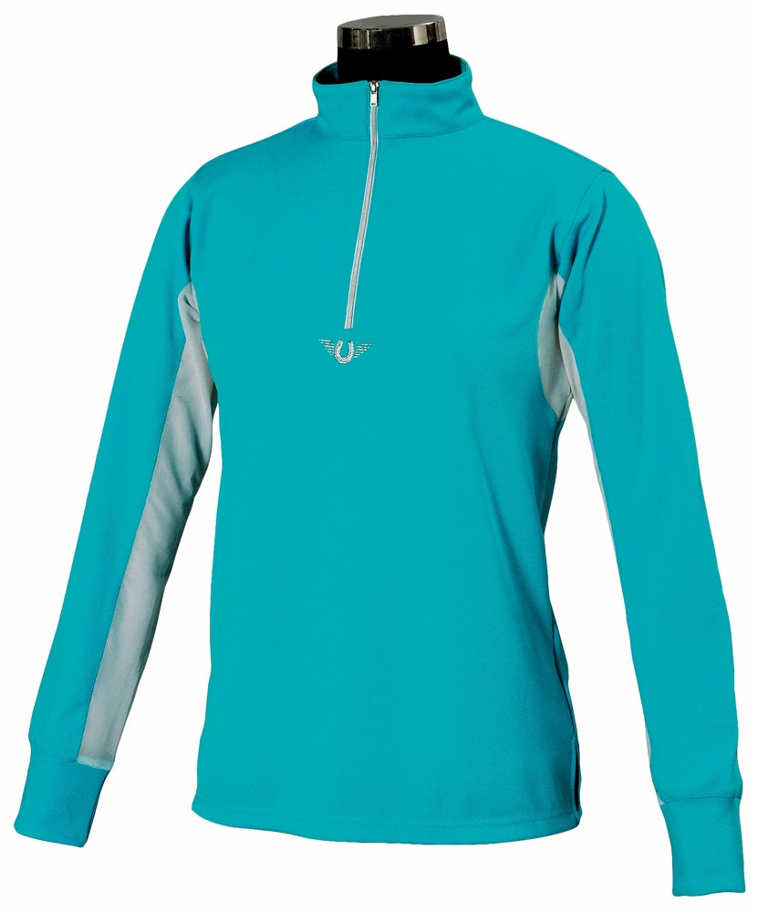 Tuffrider Ladies Ventilated Technical Long Sleeve