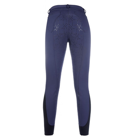 HKM Softshell riding breeches Childrens -Style- silicone full s.