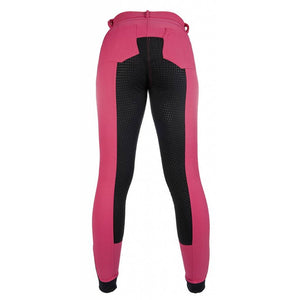 HKM Breeches -South Dakota- with silicone full seat