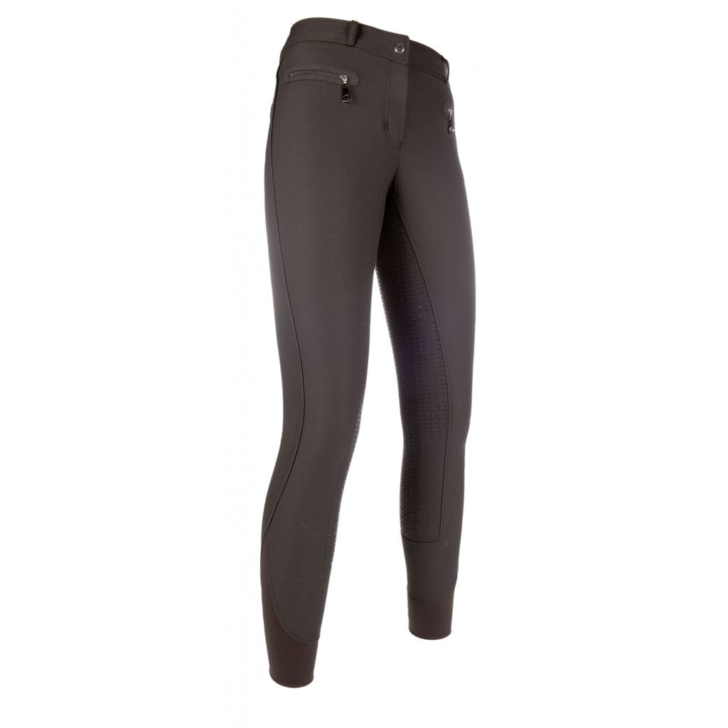 HKM Riding breeches -Moena MAY Piping- silicone full seat
