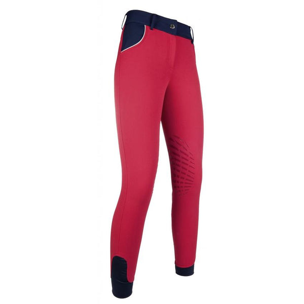 HKM Riding breeches -Hickstead ZOE-silicone knee patch