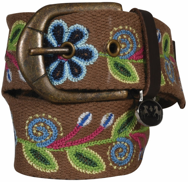 Equine Couture Lilly Cotton Belt