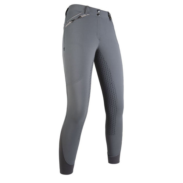 HKM Riding breeches -Young- Style silicone full seat