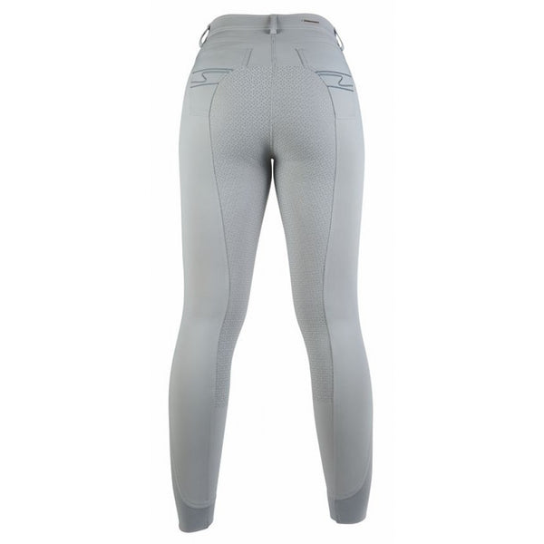 HKM Riding breeches -Equilibrio- Style sil. full seat