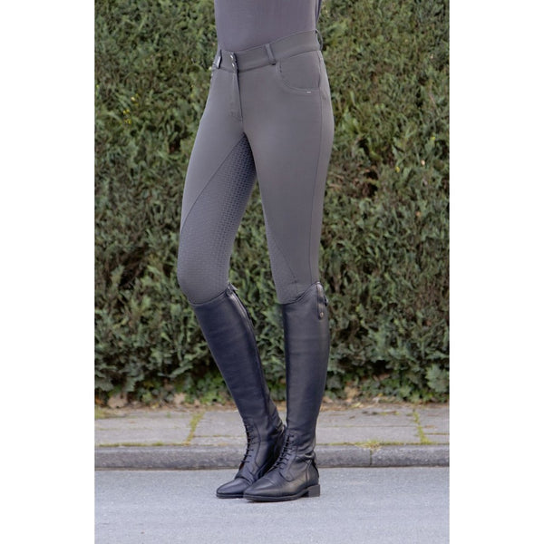 HKM Riding breeches -Easy fit- silicone full seat