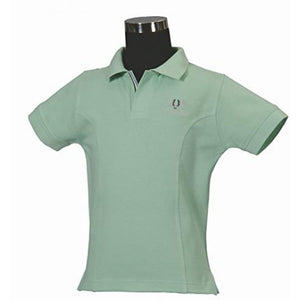 Tuffrider Children's Polo Sport Shirt - Mint Green