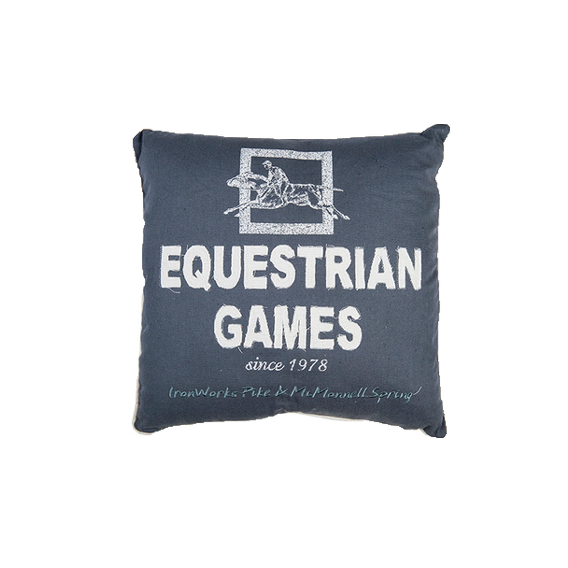 HKM Pillow Equestrian Games Grey