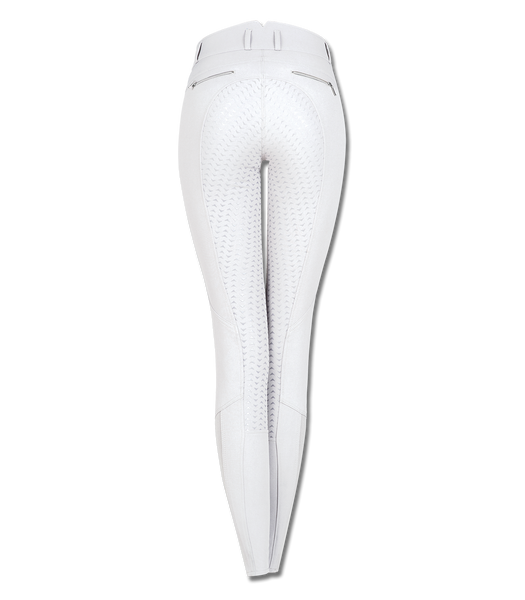 White Hella Breeches back view