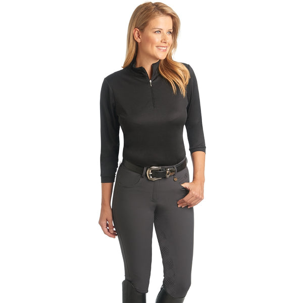 Ovation® Aqua-X™ Silicone Full Seat Breeches - Ladies'
