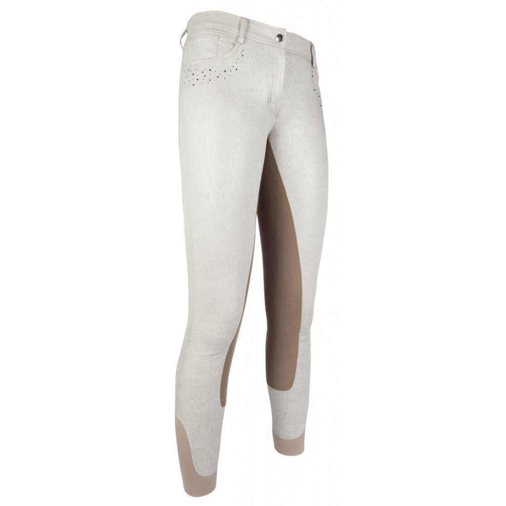 HKM Riding breeches -Rimini Glitter- 3/4 Alos seat