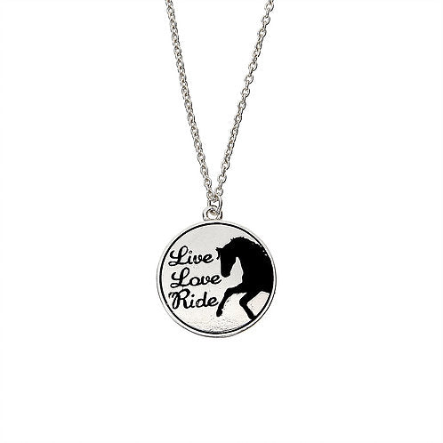 "AWST Equi-ternatives ""Live, Love, Ride,"" Necklace"