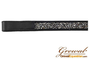 Grewal Browband Metallic Bedazzled, Full Straight