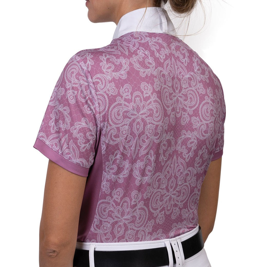 Romfh® Lace Signature Show Shirt- Short Sleeve