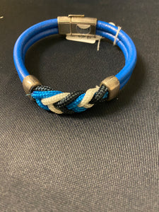LILO Leather 'n Braided Rope Bracelet - small