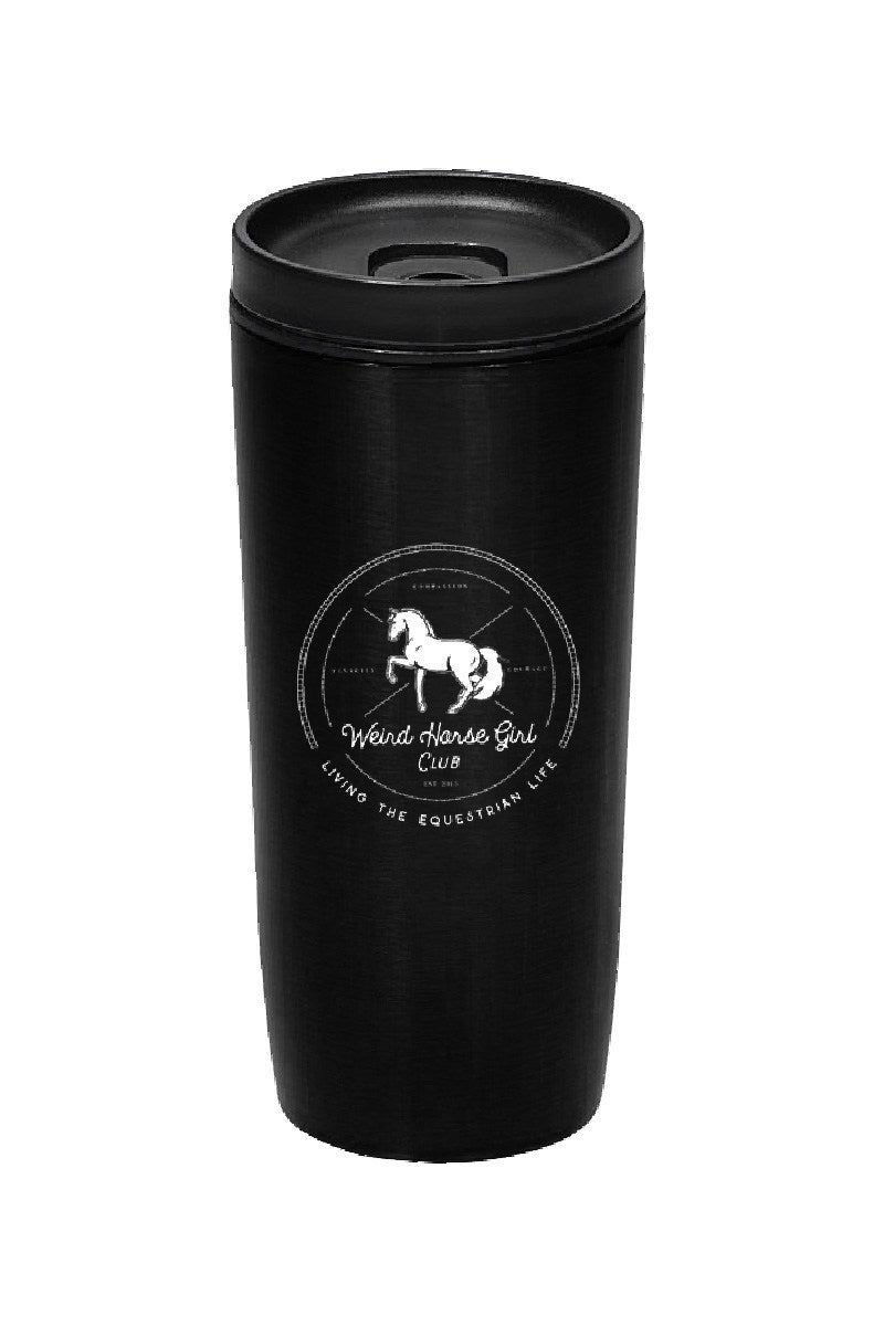 Spiced Equestrian WEIRD HORSE GIRL CLUB TRAVEL TUMBLER