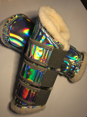 Tendon Boots Metallic - Hologram