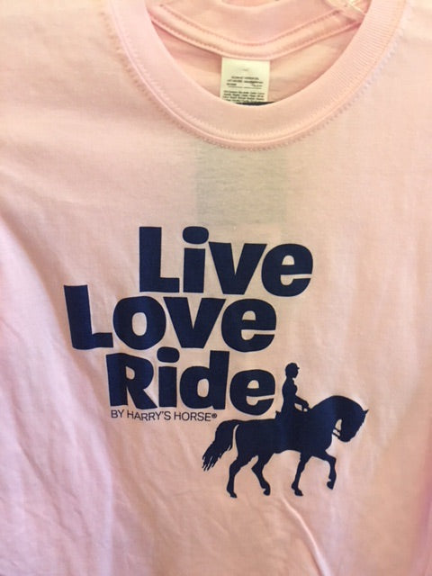 Live Love Ride Graphic T