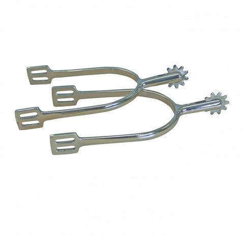 HKM Spurs with wheels,stainless steel,spur length 3cm