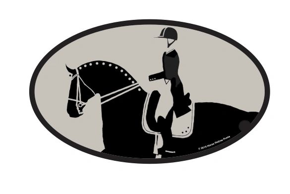 Horse Hollow Press Euro Oval Stickers - Various, Assorted Styles