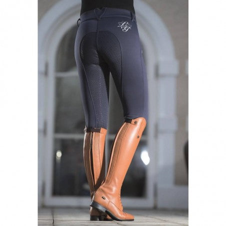 HKM Riding Breeches Moena Softshell Silicone Full Seat