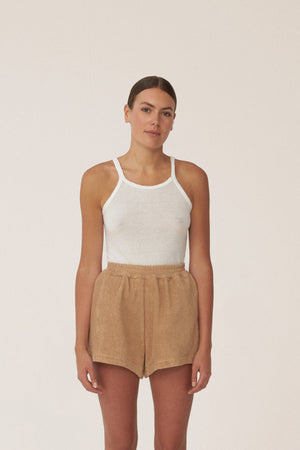ESTATE SHORTS - TAN