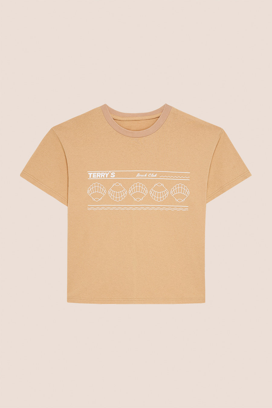 BEACH CLUB TEE - MANDORLA