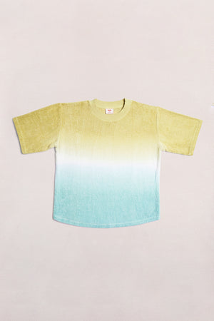 TERRY TEE - COOL HUES