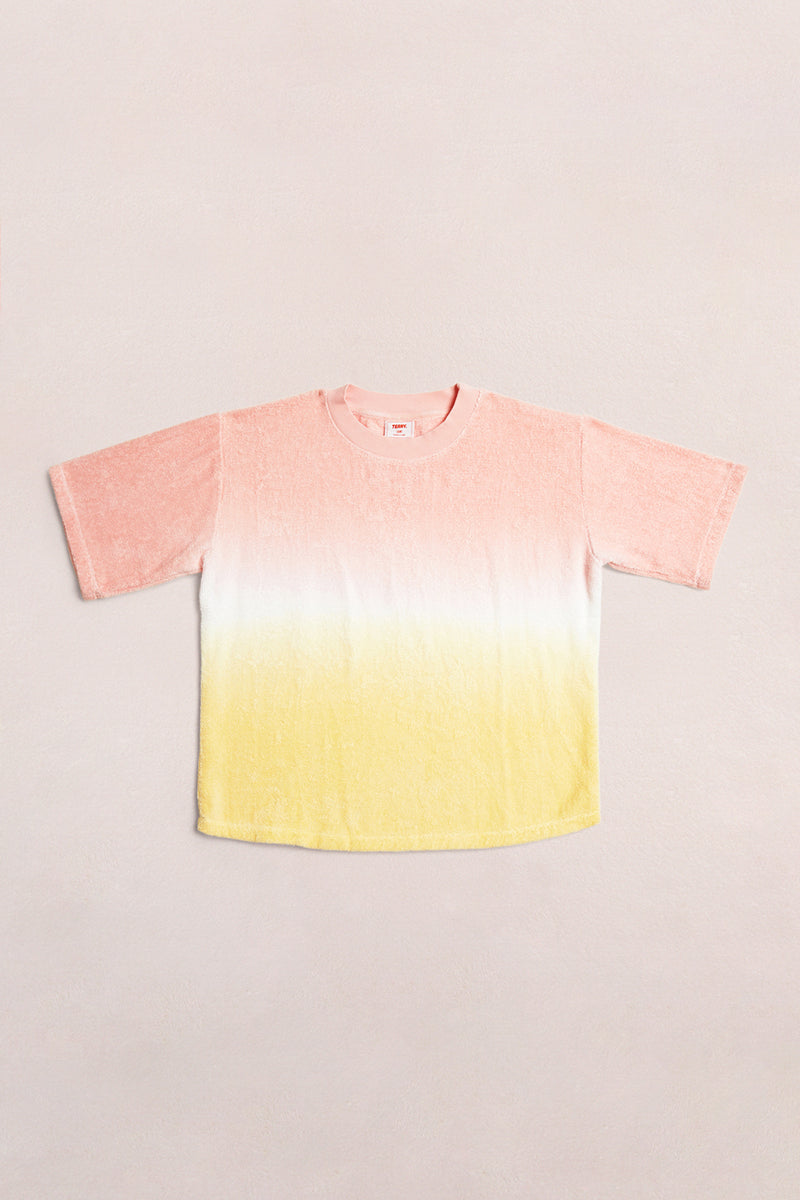 TERRY TEE - WARM HUES