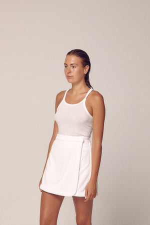 DOLCE SKIRT - BIANCO