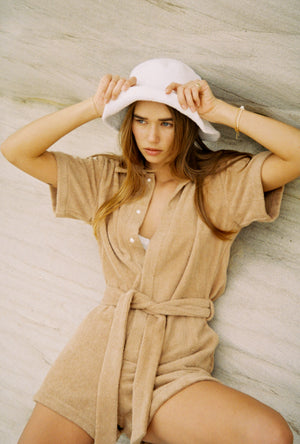 IL PAREO JUMPSUIT - TAN