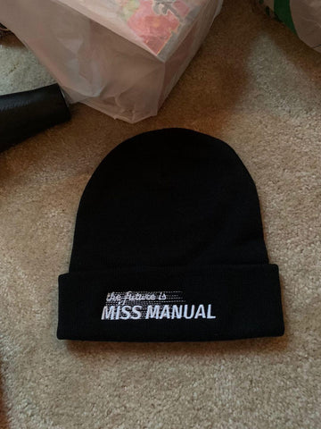 The Future is Miss Manual Beanie!