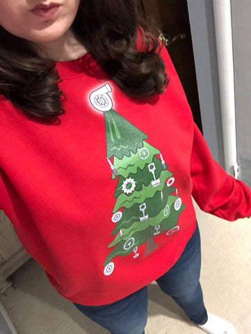 Car Part Christmas Sweater