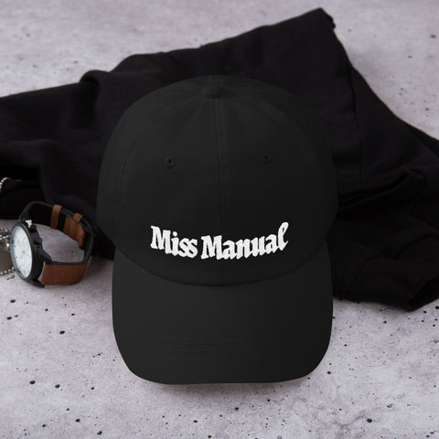 Miss Manual Dad Cap