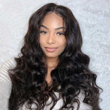 180% Density Body Wave Full Lace Pre Plucked Undetectable lace Wig