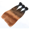 Straight 1B/4/30 hair Extension Remy Human Hair Bundles /3 Pieces