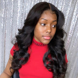 250% Density Full Lace Body Wave Pre Plucked Glueless Wigs