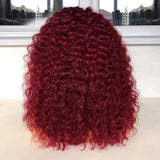 360x6 Lace Frontal 99J Pre-plucked Remy Human Hair Wigs