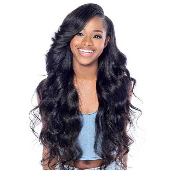 Pre Plucked Glueless Full Lace Body Wave Wigs for black women