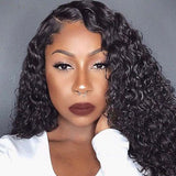 Brazilian Hair 360 Lace Curly Wigs Pre Plucked-Affordhair