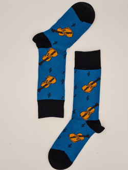 Men's fun socks Music is life ( 3+1 Free )
